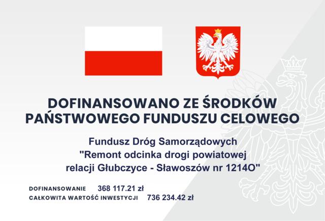 Tablica FDS - Remont Głubczyce - Sławoszów.png